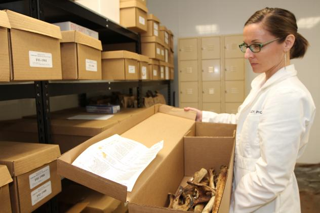 Texas forensic researchers