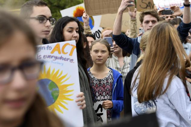 Greta Thunberg reaches the U.S., demands climate action from politicians