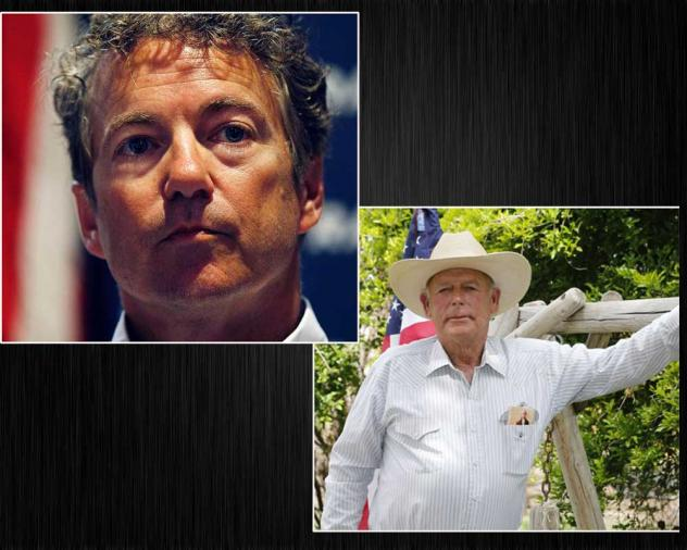 Rand Paul and Cliven Bundy