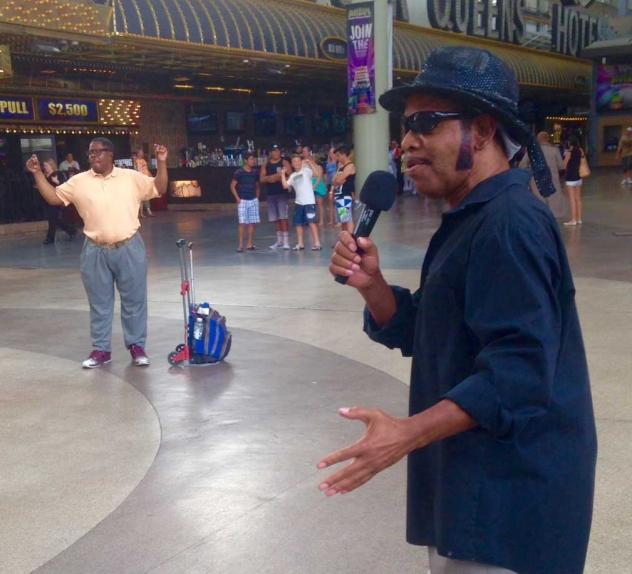 Downtown entertainers