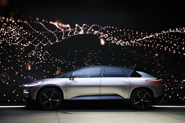 Ociated Press The Futuristic Car Unveiled By Faraday
