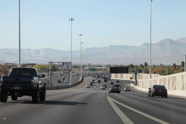 What Is Hov Lane >> The Ins And Outs Of Project Neon S New Hov Lanes Nevada Public Radio