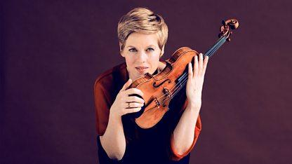 Isabelle Faust on violin