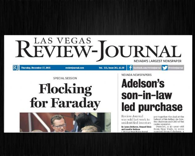 Ending Mystery, Adelson Family Says It Bought The 'Las Vegas Review