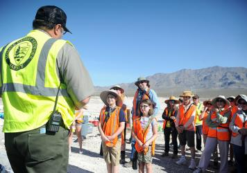 Tule Springs Fossil Bed Monument cleanup