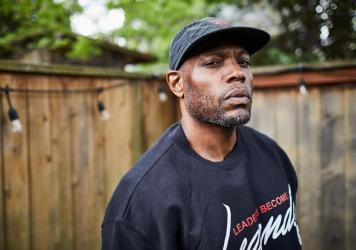 Bretto Jackson runs a program called Leaders Become Legends in Portland, Ore. He and a partner mentor people involved in gun violence and help them get jobs in green energy.