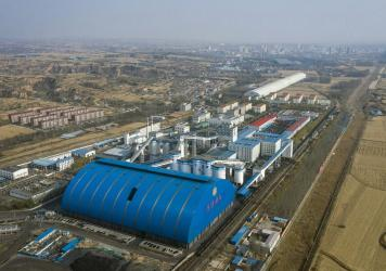 The Xinyuan Coal Mine operated by Yangquan Coal Industry Group Co. in Jinzhong, Shanxi province, in October.