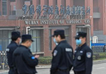 President Biden directed the intelligence agencies to look for evidence of an accident at the Wuhan Institute of Virology (pictured). Many scientists still think its more likely the virus came form the wild.