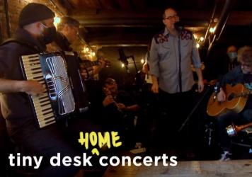 The Hold Steady perform a Tiny Desk (home) concert.
