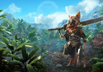 <em>Biomutant</em> gives players a beautiful open world to explore.