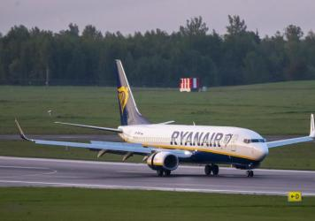 A Ryanair jet that carried opposition figure Roman Protasevich was diverted to Minsk, Belarus, after a bomb threat. Protasevich, who ran a channel on a messaging app used to organize demonstrations against authoritarian President Alexander Lukashenko, wa