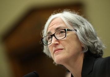 Dr. Anne Schuchat, principal deputy director of the Centers for Disease Control and Prevention, testifies before a House panel on Sept. 25, 2019. In an NPR interview, she says the nation has more work to do to get ready for a future pandemic.