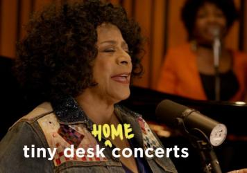 Merry Clayton performs a Tiny Desk (home) concert.