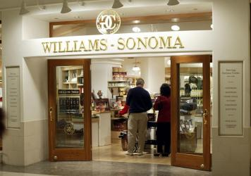 Shoppers browse at a Williams Sonoma in Chicago, Ill., on May 22, 2003.