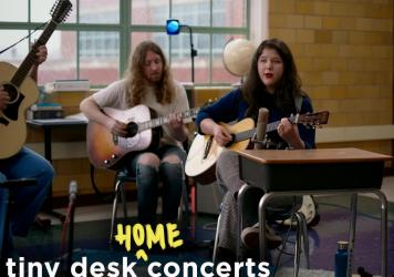 Lucy Dacus performs a Tiny Desk (home) concert.