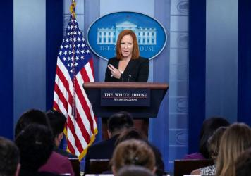 White House press secretary Jen Psaki acknowledged Tuesday that a White House staffer has tested positive for COVID-19 and there have been other recent breakthrough cases of vaccinated staff members with mild cases.