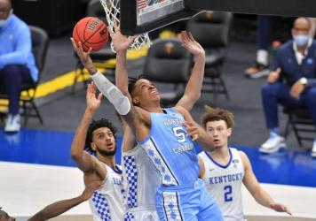 The University of North Carolina is the first school to organize group licensing deals for its players.