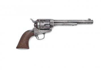 Pat Garrett's Colt single action army revolver was used to gun down Billy the Kid.