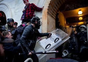 Trump supporters clashed with police and security forces as they tried to storm the U.S. Capitol on January 6. Today, police who were on duty that day will testify to a House committee investigating the riot.