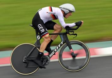 """German cyclist Nikias Arndt said he was """"appalled"""" an official from his country's cycling federation shouted a racial slur during the men's time trial at the Tokyo Games."""