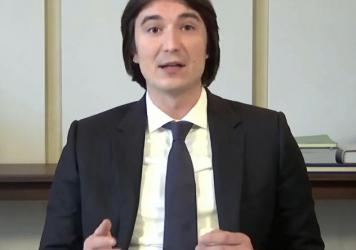 In this image from video provided by the House Financial Services Committee, Vlad Tenev, chief executive officer ofRobinhood, testifies during a virtual hearing on GameStop in Washington, D.C., on Feb. 18. Robinhood is facing a range of lawsuits and p