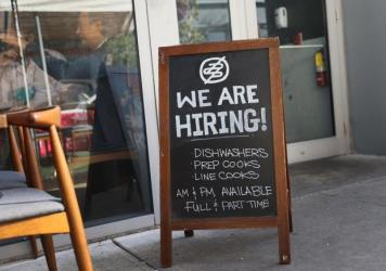 Restaurants in Miami and across the country are seeing surging demand from customers, but they are still struggling to recruit staff.