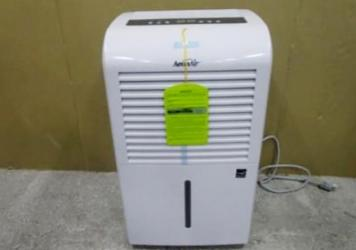 This photo provided by Consumer Product Safety Commission shows a dehumidifier made by New Widetech. The Consumer Product Safety Commission says, Friday, Aug. 6, 2021, about 2 million dehumidifiers made by New Widetech are being recalled in the U.S. beca