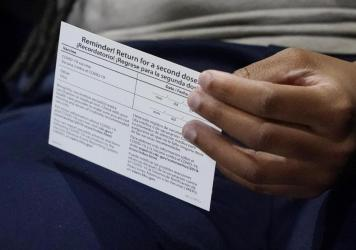 Vaccination cards are key to a lot of activities, so they need to be both protected and available.
