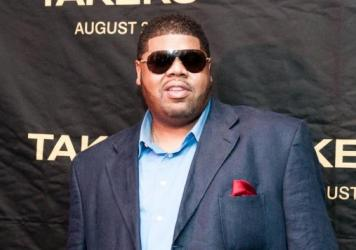 Chucky Thompson at a screening of the 2010 movie <em>Takers</em> in Washington D.C.