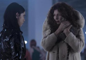 L to R: Lisa (Rosa Salazar) gets more than she bargained for from Boro (Catherine Keener) in Netflix's <em>Brand New Cherry Flavor</em>.