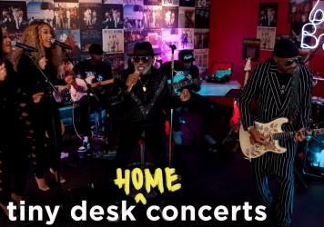 The Isley Brothers perform a Tiny Desk (home) concert.