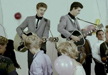 In the 1950s, when they were barely adults themselves, Phil (left) and Don Everly took pieces of musical traditions and created songs that gave voice to a new youth culture that balanced, with all the awkwardness of teenage life, on an edge between anxie