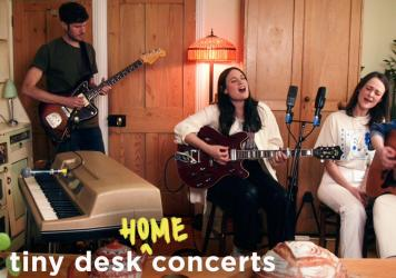 The Staves perform a Tiny Desk (home) concert.