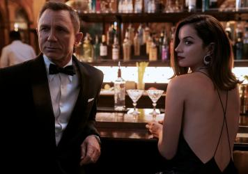 Daniel Craig's final crack at 007 was among the first films to delay opening because of the pandemic. He will play across Ana de Armas in <em>No Time To Die.</em>