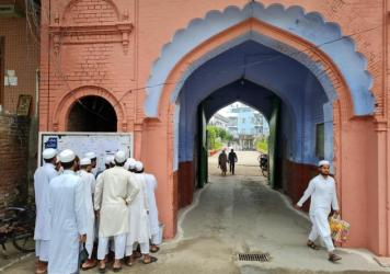 The main entrance to the campus of the Darul Uloom seminary in Deoband, India, where the Deobandi strain of Islam was founded in the 19th century. Among its more recent adherents are the Taliban.