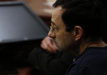 A recent Department of Justice report criticized the FBI for its handling of abuse claims against former USA Gymnastics doctor Larry Nassar, pictured.
