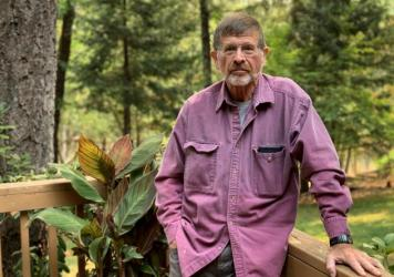Charlie Callagan's bone marrow transplant for multiple myeloma was recently postponed at the last minute because Oregon hospitals are overwhelmed with treating COVID-19 patients.