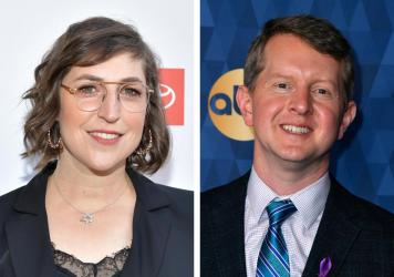 Actress Mayim Bialik and previous winner Ken Jennings will co-host the program through the end of 2021.