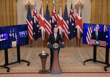 One thorny issue facing President Biden at the U.N.: the defense deal he announced with Australia and the United Kingdom, which left France so angry that it pulled its ambassador from Washington.
