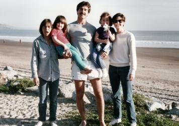 Sandy Russo, Ry Russo-Young, Tom Steel, Cade Russo-Young and Robin Young (Courtesy of HBO)