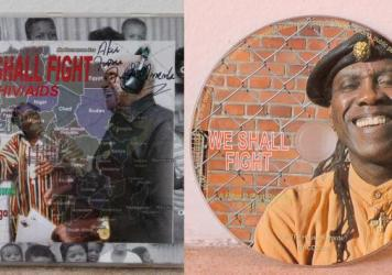 It seemed as if the 2005 album by Kenneth Kaunda, <em>We Shall Fight HIV/AIDS, </em>had vanished. But then ... it was found! Here's what could be the sole surviving copy, now being remastered for re-release this year.