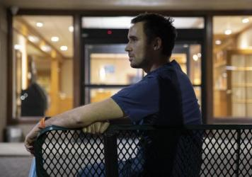 Matthew Crecelius, a traveling contract nurse who has worked in a dozen hospitals since the pandemic began, says that he can recall numerous instances where health care worker burnout has had a direct impact on patient care.