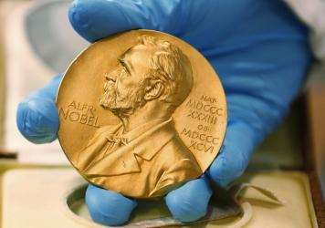 Syukuro Manabe and Klaus Hasselmann shared half of this year's Nobel Prize, and Giorgio Parisi was awarded the other half.