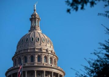 The Texas State Capitol in Austin is seen on Saturday.