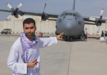 Najibullah Quraishi has won numerous awards for his reporting, including three Emmy awards, a Peabody award, an Overseas Press Club award and a DuPont award. He's currently in Kabul, where he's waiting to hear when he can get a flight out of Afghanistan.