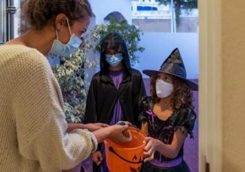 Dr. Anthony Fauci said this weekend that children can go trick-or-treating safely this year.
