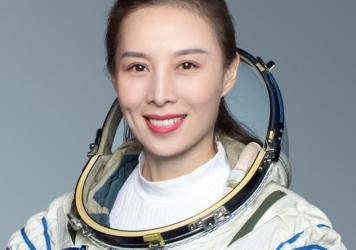Wang Yaping is one of three astronauts aboard the Shenzhou 13 spaceflight mission. She will be the first female astronaut to visit the latest Chinese space station, but she has the most space experience of the three.