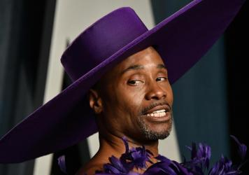 """Billy Porter attends the 2020 Vanity Fair Oscar Party. """"Fabulous and serious, can go hand in hand. I am proof positive of that,"""" he says."""