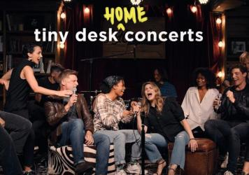 The cast of Jagged Little Pill performs a Tiny Desk (home) concert.