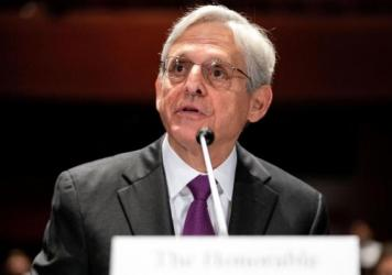 """Attorney General Merrick Garland told the House Judiciary Committee that """"the Department of Justice has a long-standing policy of not commenting on investigations."""""""